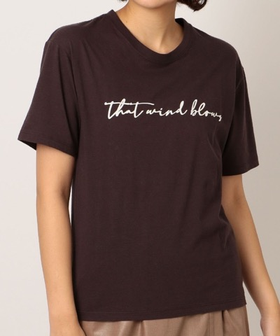 NINE(ナイン)WIND BLOWS Tシャツ