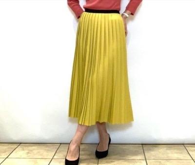 BEATRICE(ベアトリス) 二重仕立てのプリーツスカート