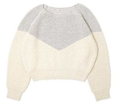 flowersilky V knit ~シルキーブイニット
