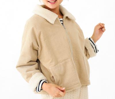 flowerlittle reversible coat ~リトルリバーシブルコート