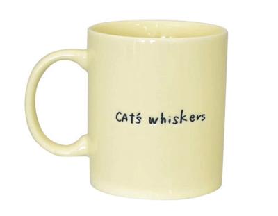 CAT'S Whiskers マグ アイボリー