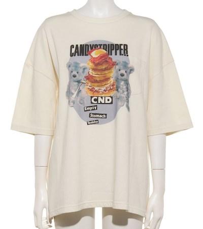 Candy Stripper(キャンディストリッパー)BREAKFAST BEARS TOPS