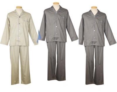 極眠プレミアムサテン 紳士パジャマ