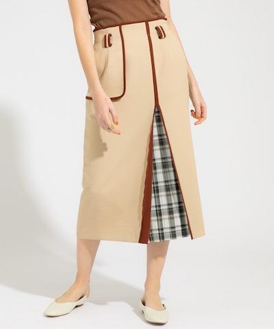 PUBLIC TOKYOハイウエストタイトスカート