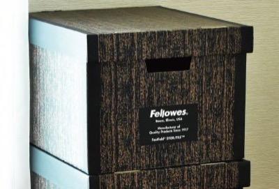 Fellowes(フェローズ) バンカーズボックス ウッドグレイン