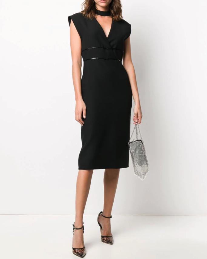 Gucci(グッチ)ロゴ ベルテッド ドレス