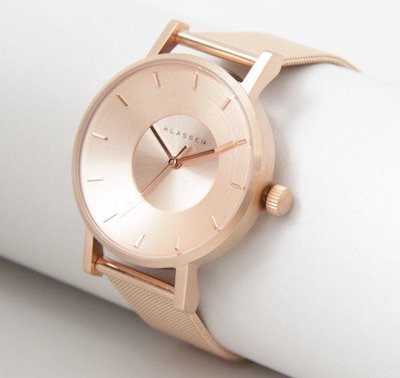 KLASSE14 Volare Rose Gold with Mesh Strap