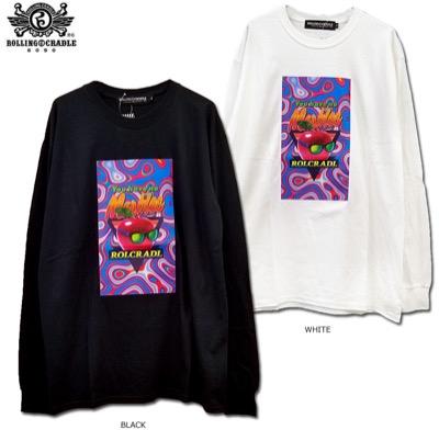 ROLLING CRADLE(ローリングクレイドル) MARBLE LONG SLEEVE長袖Tシャツ
