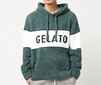 gelato pique【GELATO PIQUE HOMME】'パウダー'ストリートジャガードフードプルオーバー