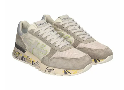 Premiata プレミアータ スニーカー シューズ Premiata Mick Sneakers In Beige Nylon