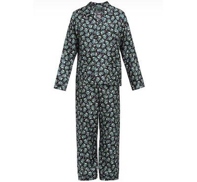 PRADAシルクツイル パジャマ