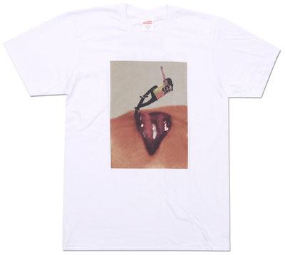 SUPREME(シュプリーム) x David Sims(デヴィッド・シムズ) Tシャツ