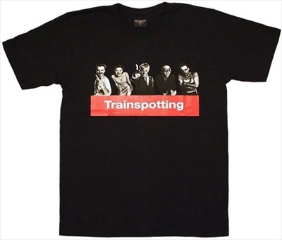 トレインスポッティング イギリス 人気 映画Tシャツ