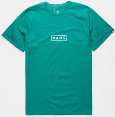 VANS(バンズ) BOX LOGOTシャツ