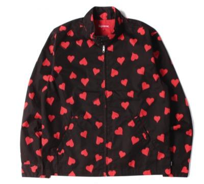 Supreme (シュプリーム)17SS Hearts Harrington Jacket