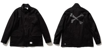 MINEDENIM(マインデニム) x WTAPS(ダブルタップス)M-65 Field Jacket