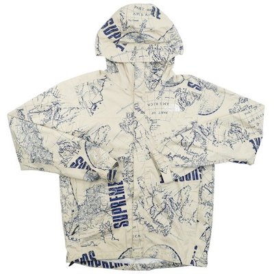 Supreme x The North Face Venture Jacket 2012SS