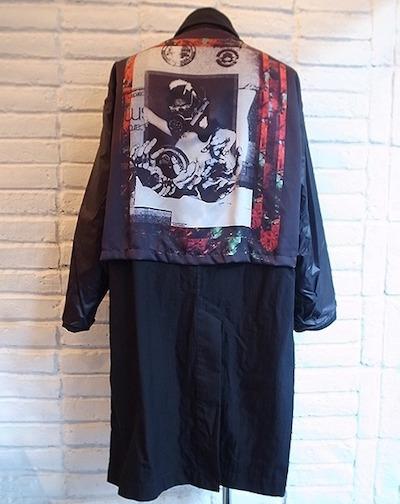 【DIET BUTCHER SLIM SKIN×Kosuke Kawamura】reversible coat (BLACK)