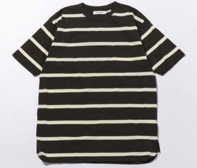 nonnative(ノンネイティブ) JERSEY BORDER SS/Tシャツ