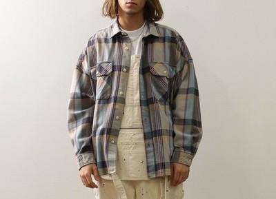 BIG MAC×FREAK'S STOREビッグマック ビッグシルエットチェックシャツ