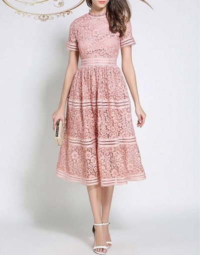 Antoinette二色展開 ピンク ブルー オーガンジー ロング丈 ロング ワンピース ドレス