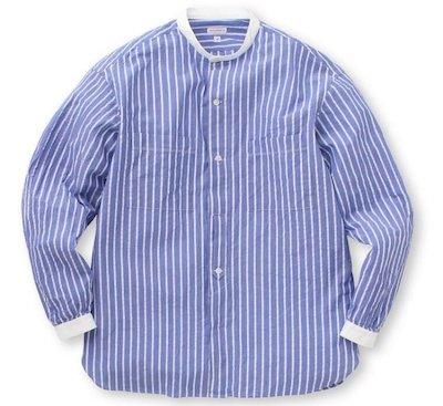 DRESSTERIOR(ドレステリア)シアサッカーストライプシャツ
