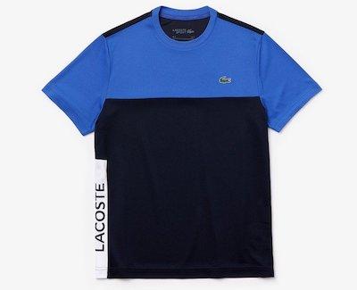LACOSTE(ラコステ)ウルトラドライ仕様カラーブロックピケTシャツ
