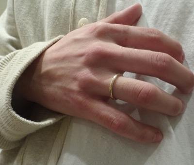 Atease(アティース) ISHIUCHI RING S GOLD