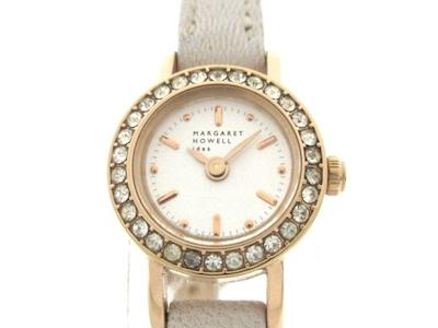 MargaretHowell(マーガレットハウエル) 腕時計ラインストーン/idea