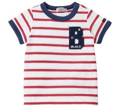 MIKI HOUSE(ミキハウス)ダブルビー ボーダーTシャツ
