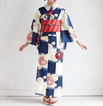 FURIFU(ふりふ)浴衣「Natural Furifu(ナチュラルふりふ)」/ 浴衣・夏・花火・祭