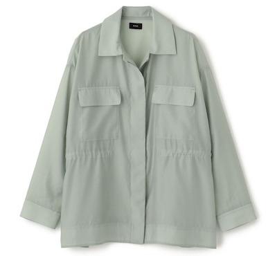 NINE(ナイン)シアードロストシャツジャケット