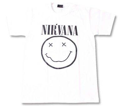 Nirvana(ニルヴァーナ)ロックTシャツ