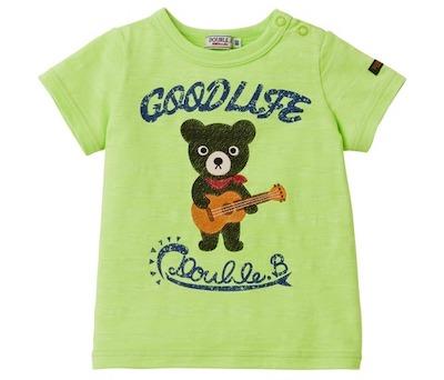 MIKI HOUSE(ミキハウス)ウクレレベア半袖Tシャツ
