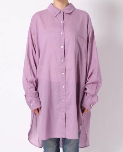 Ungrid(アングリッド)シアールーズシャツ