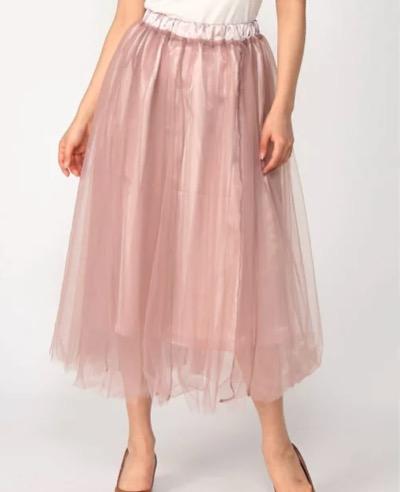 RETRO GIRLチュールスカート