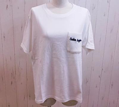 CUBE SUGAR(キューブシュガー) ポケットデザインTシャツ