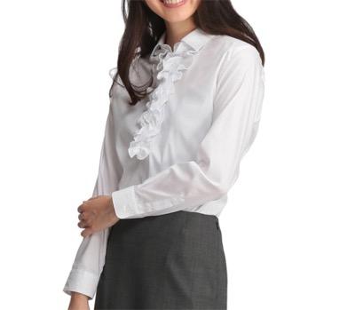 AOKICanCamコラボ 2WAYフリルシャツ