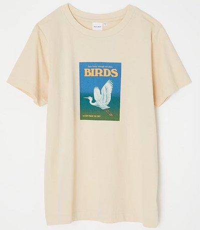 MOUSSY(マウジー)BIRDS Tシャツ