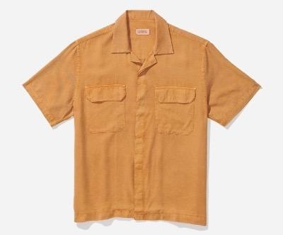Saturdays NYCシャツ ブラウス Gibson Double Pocket S/S Shirt