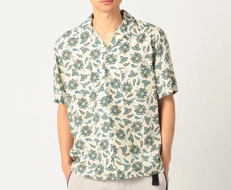 COLUMBIA BLACK LABELフランチェストレイルショートスリーブシャツ