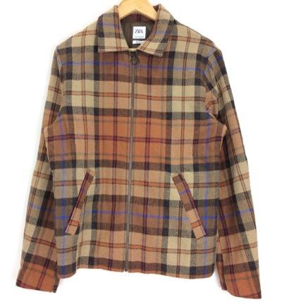 ZARAチェックシャツ・ジャケット