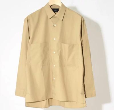 SLICK(スリック) タイプライタービッグポケットシャツ