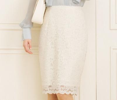 Mimi GranTレースタイトスカート
