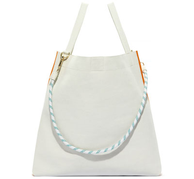 ADINAMUSE BIG HYBRID TOTE SMOKY WHITE