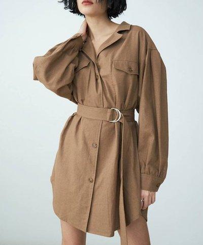 EVRIS(エブリス)リネンライクルーズシャツジャケット2019S/S