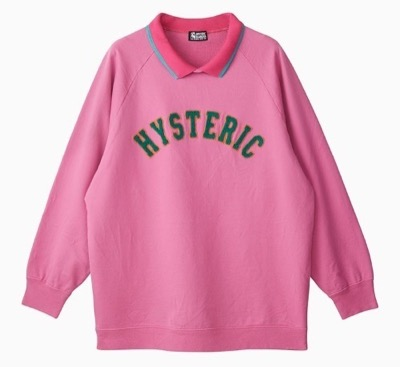 HYSTERIC GLAMOUR HYS LOGO刺繍 スウェット