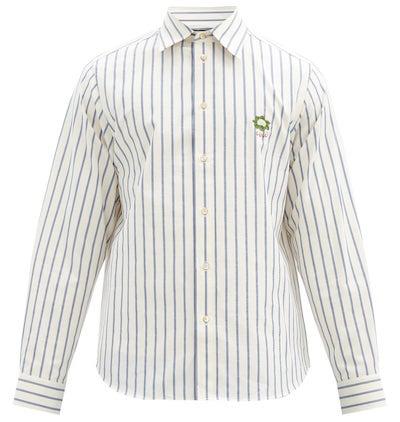 GUCCI(グッチ)ストライプコットンシャツ