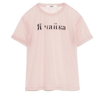 FURFUR(ファーファー)ロゴシアーTシャツ