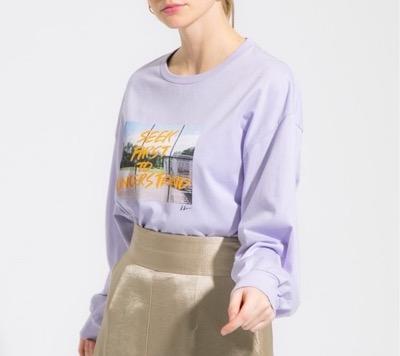 """PUBLIC TOKYOLee Izumidaコラボ """"SEEK FIRST TO UNDERSTAND""""フォトTシャツ"""